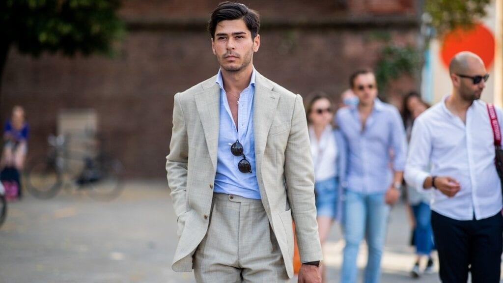 consejos para usar traje en verano