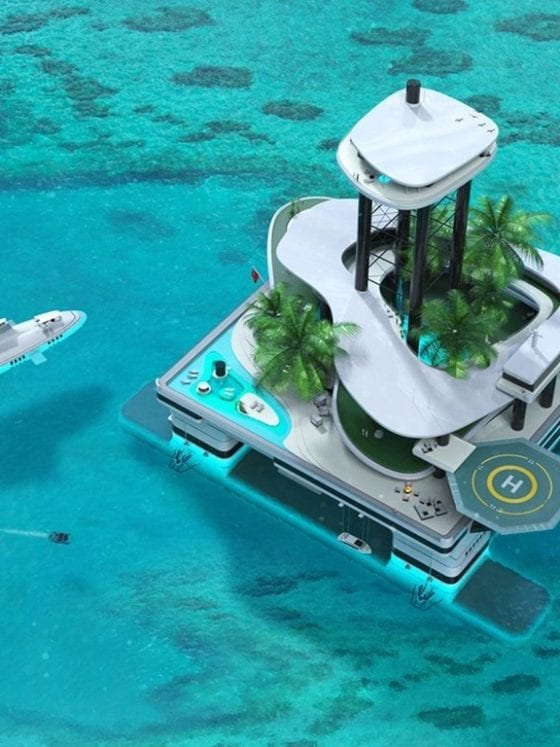 migaloo private submersible yachts designboom header
